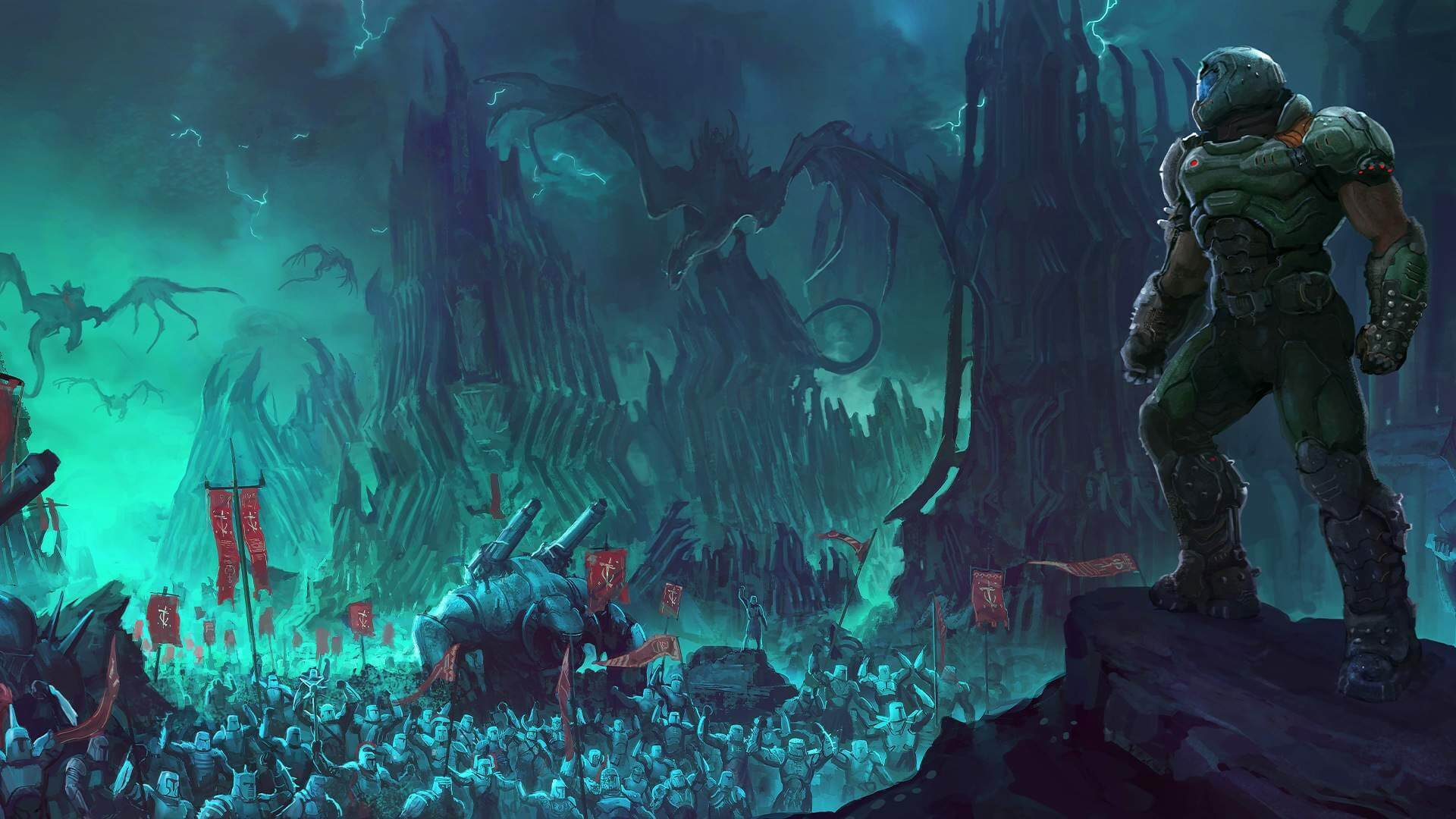 Doom Eternal New Version On PS4