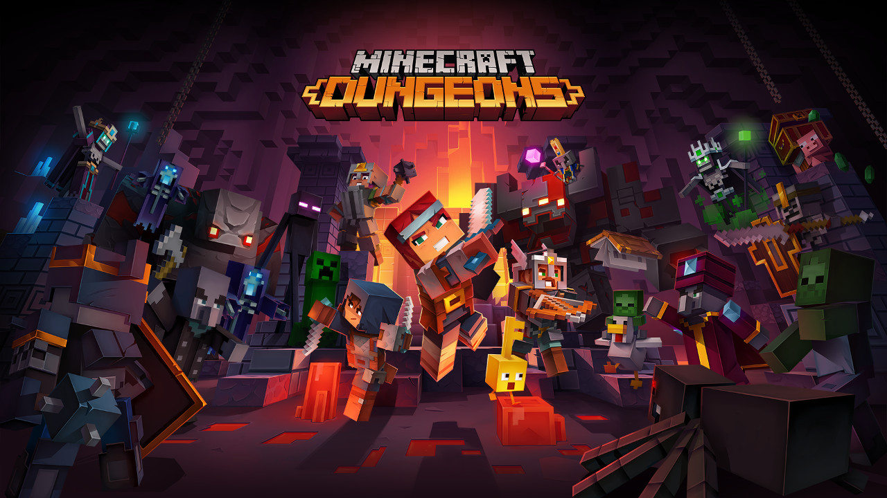 The Minecraft Dungeons 2020