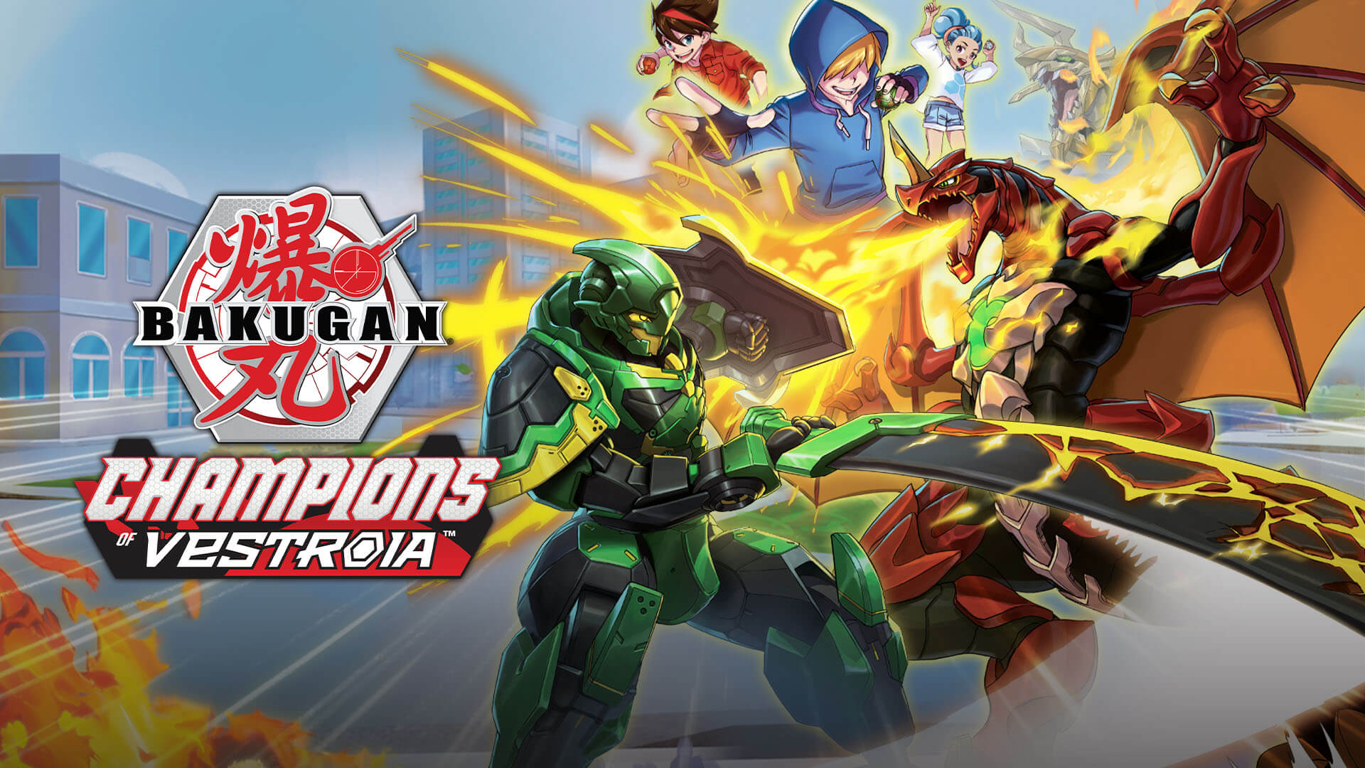 Bakugan: Champions of Vestroia Free PC Download