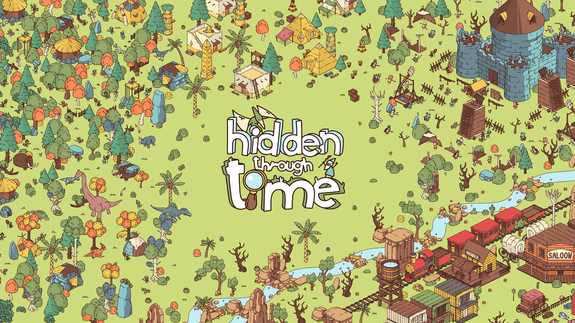 Hidden Through Time Free PC Download