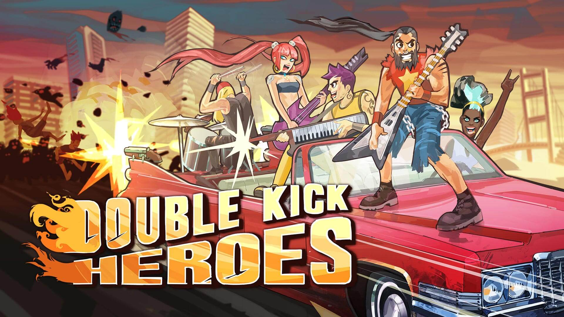 Double Kick Heroes Free PC Download
