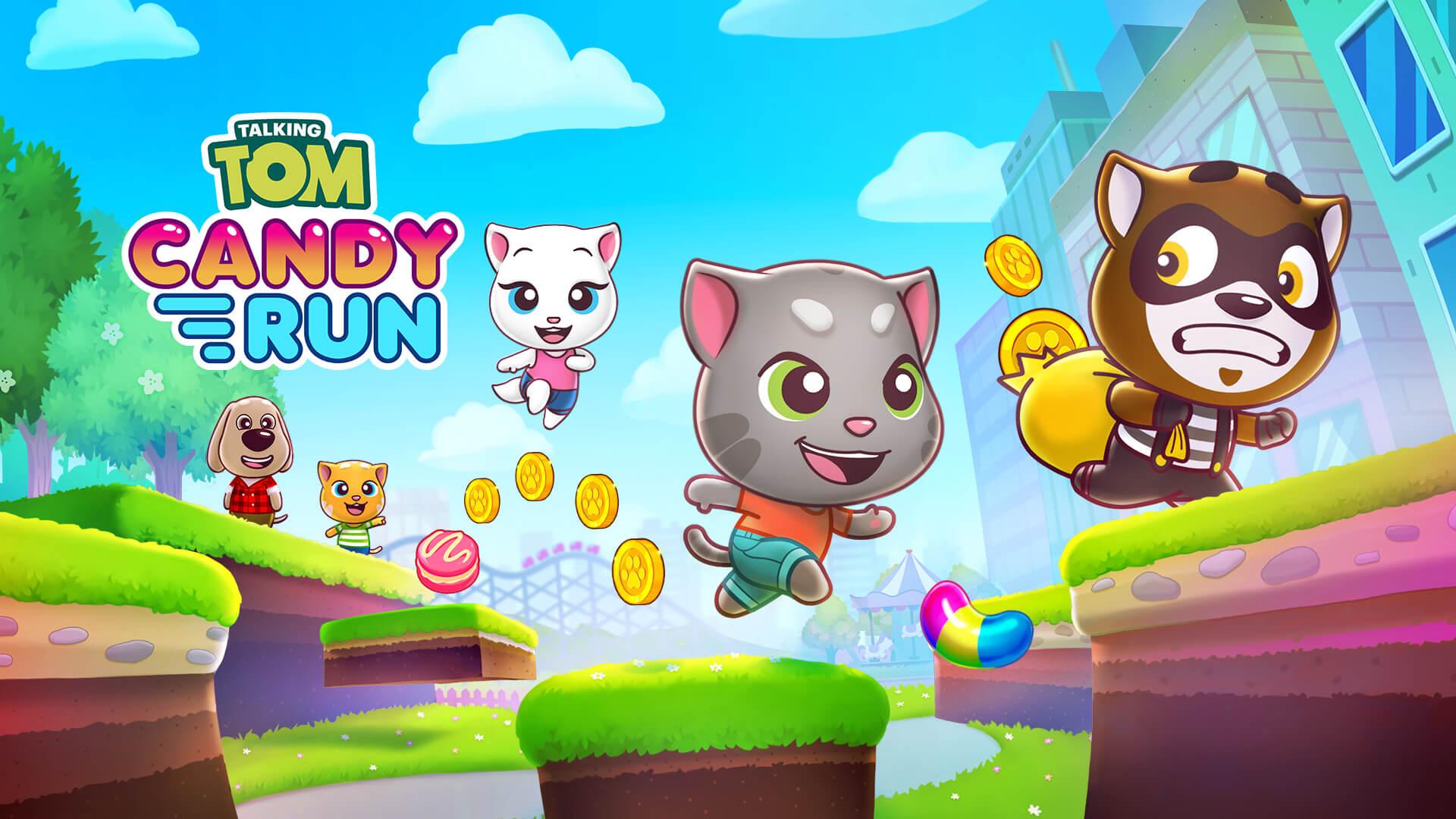 Talking Tom Candy Run Free PC Download