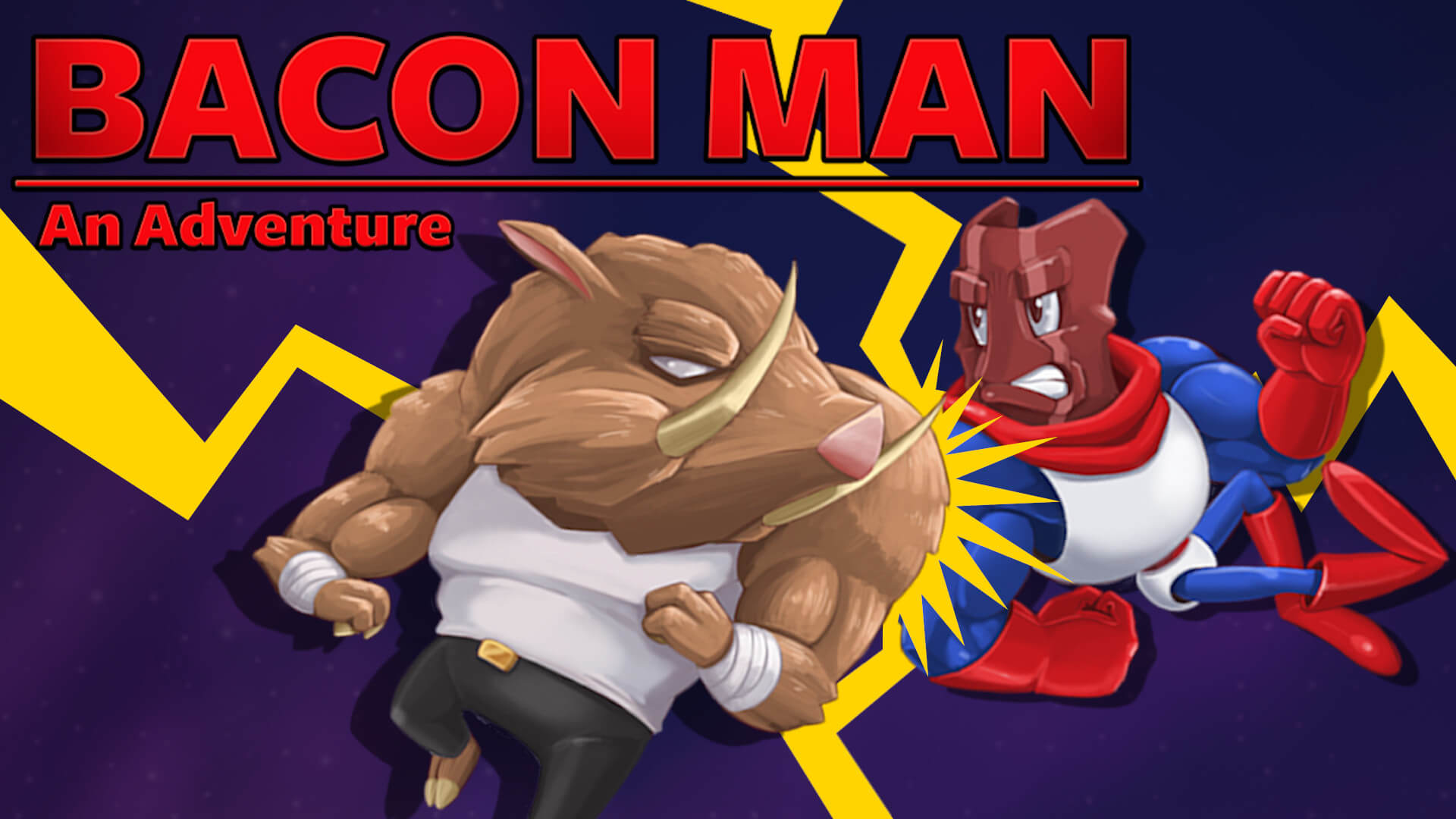 Bacon Man: An Adventure Free PC Download