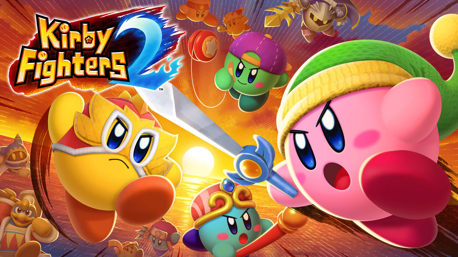 Kirby Fighters 2 Free PC Download