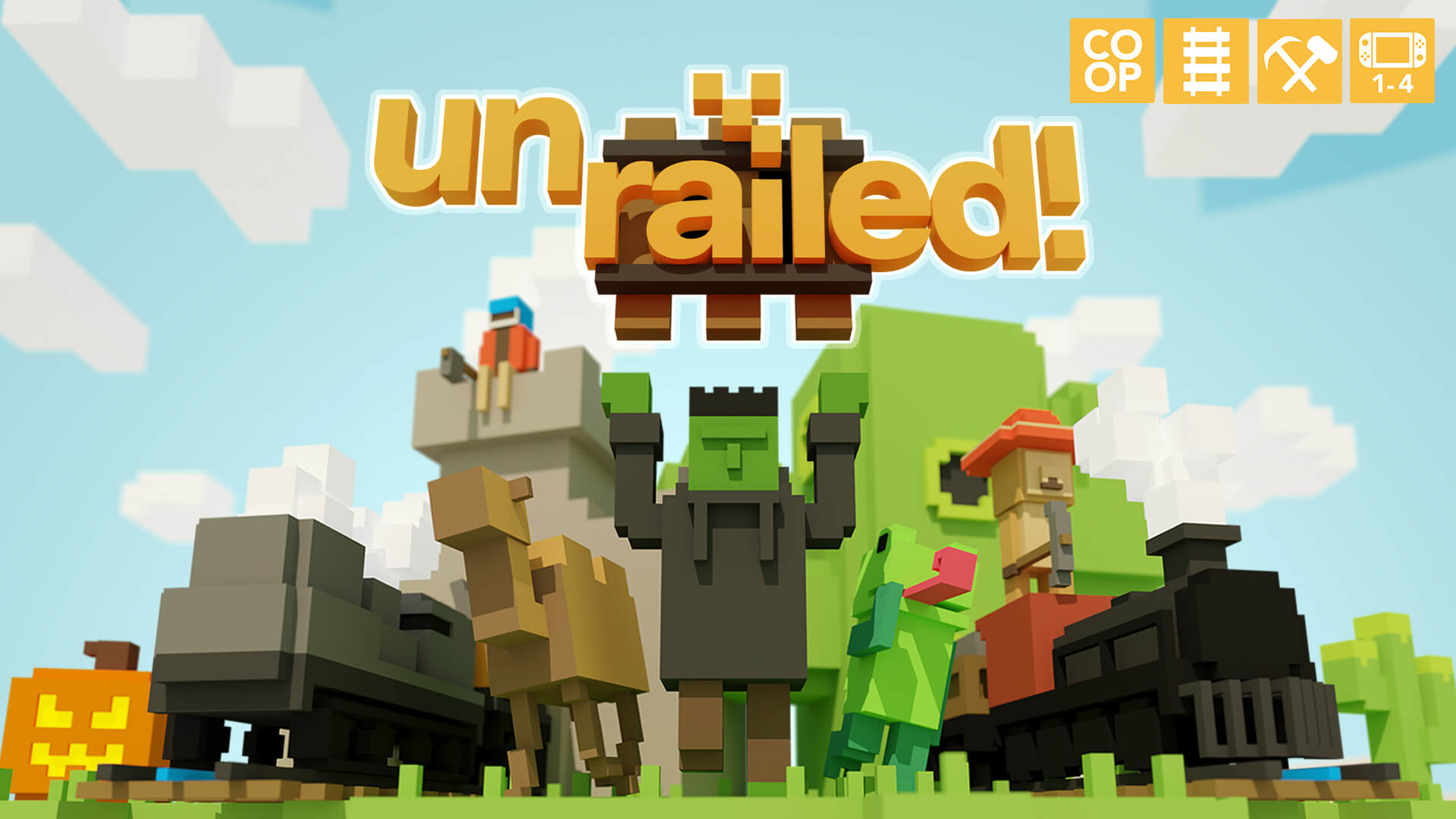 Unrailed! Free PC Download