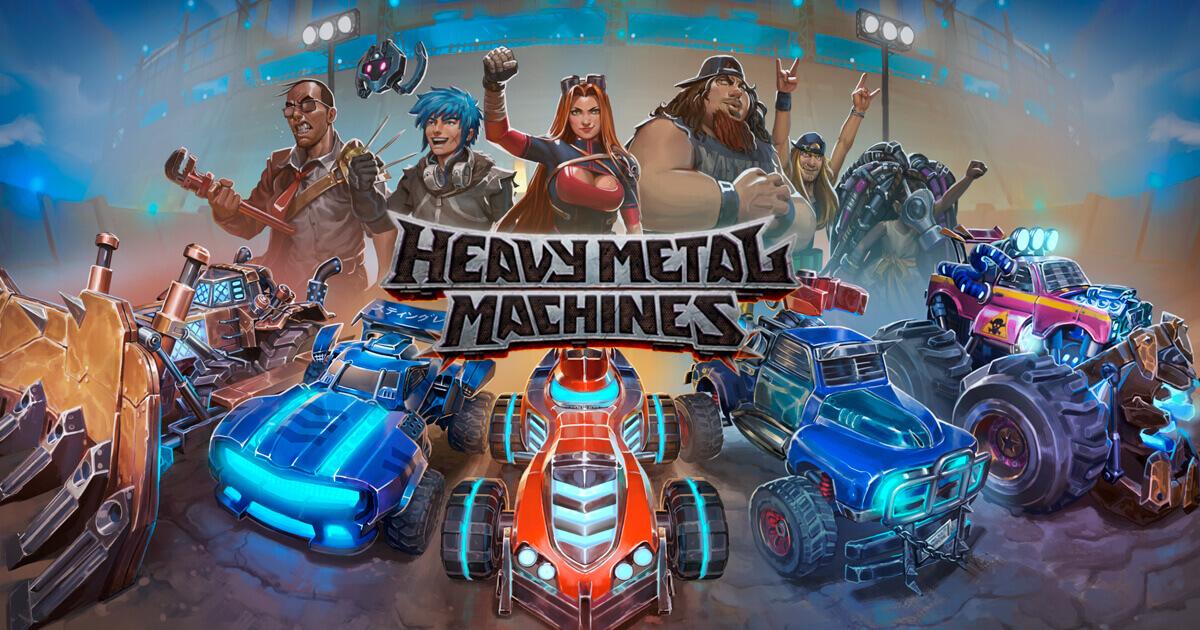 Heavy Metal Machines Free PC Download