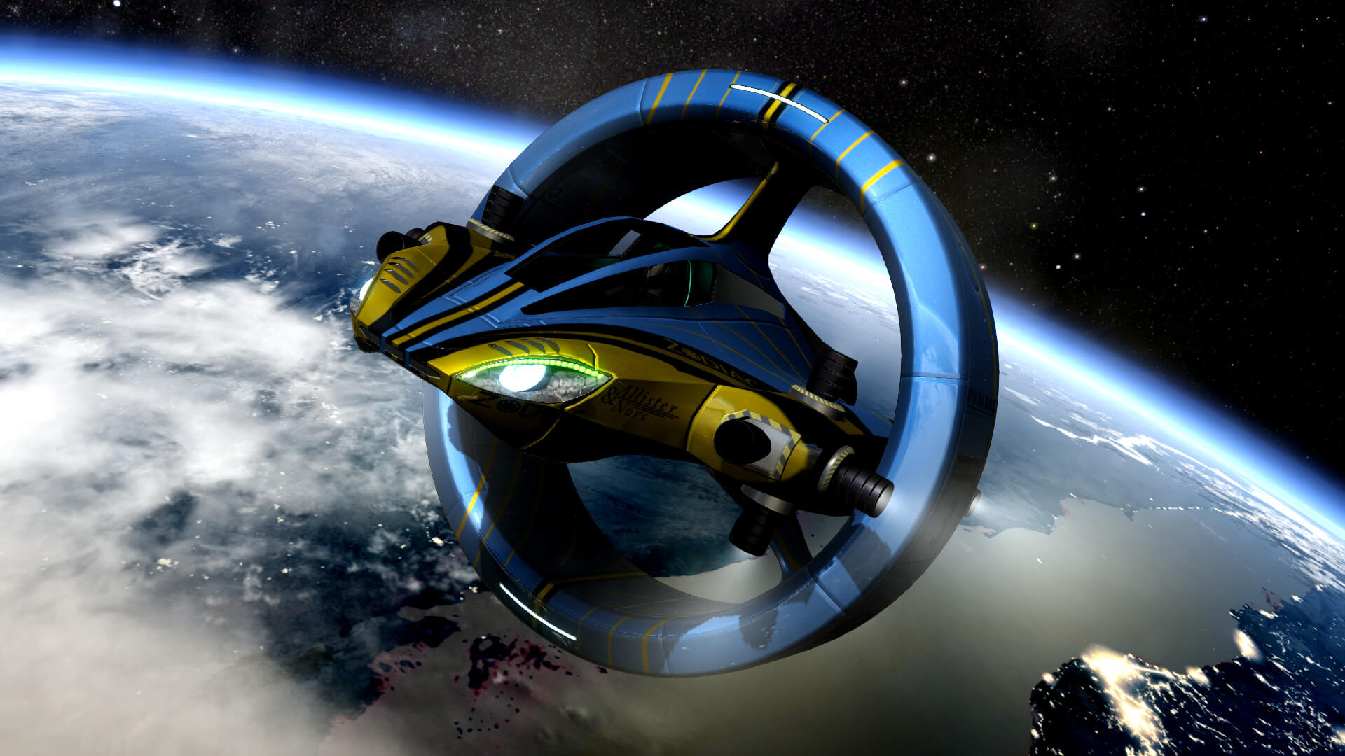 Orbital Racer Free PC Download