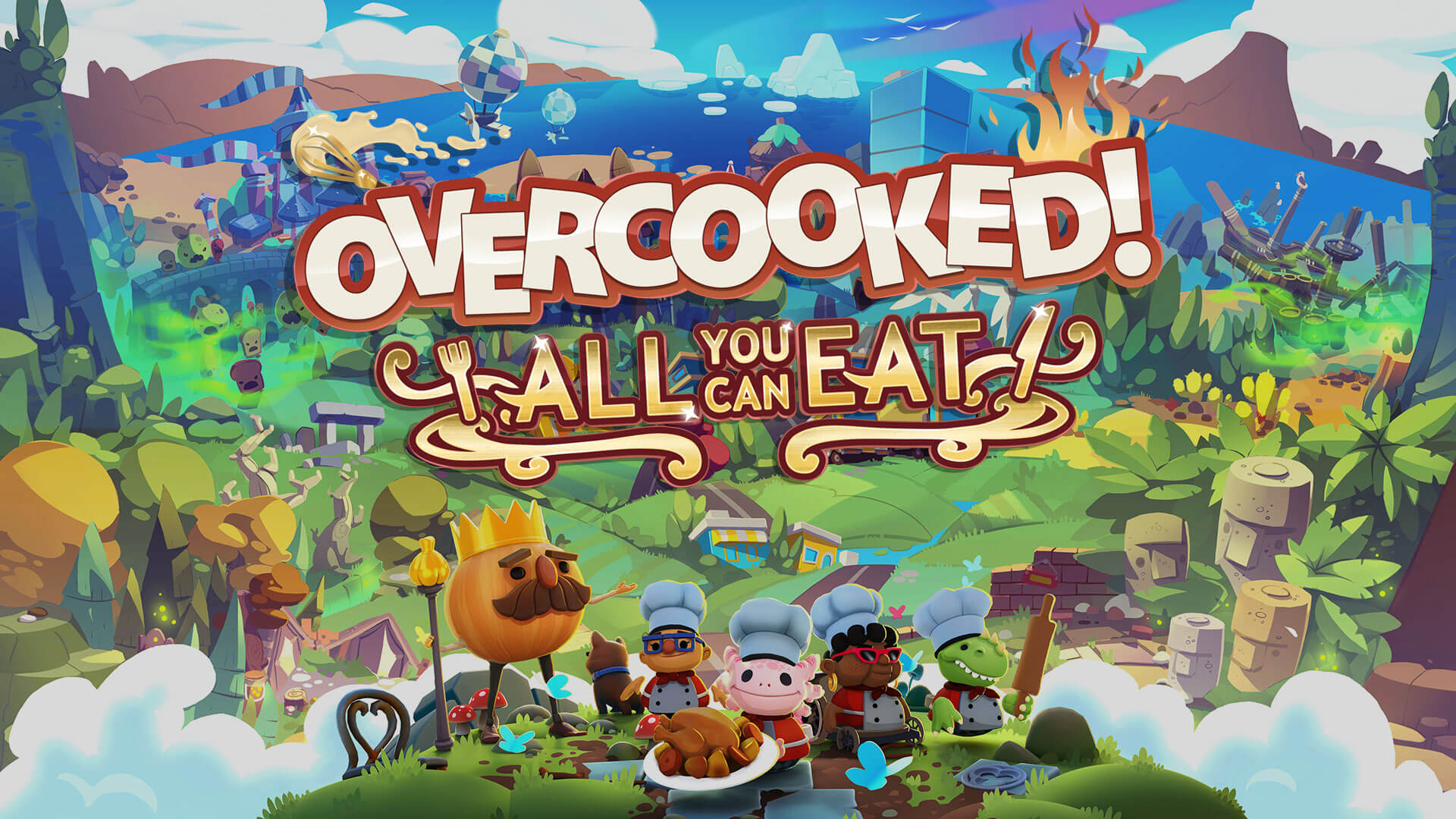 Overcooked! All You Can Eat Free PC Download