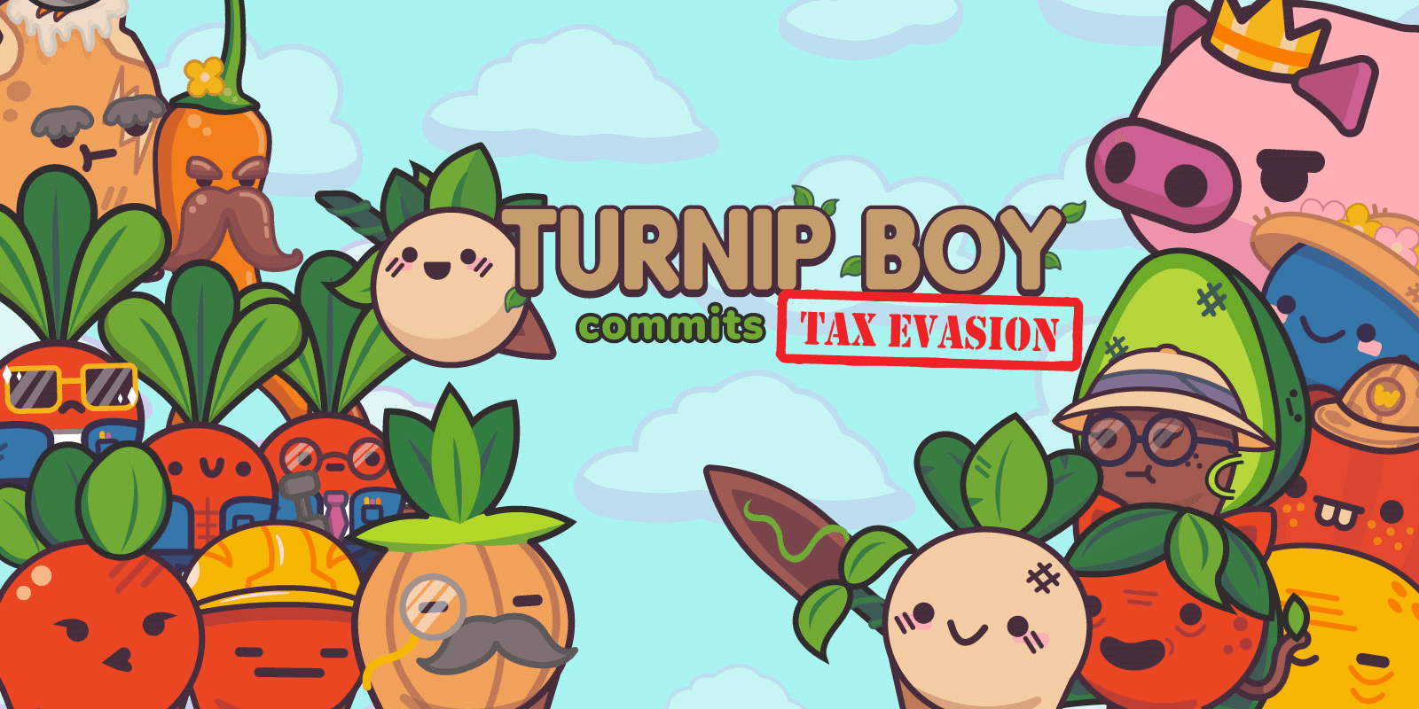 Turnip Boy Commits Tax Evasion Free PC Download
