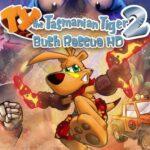 TY the Tasmanian Tiger 2: Bush Rescue HD PS4 Free Download