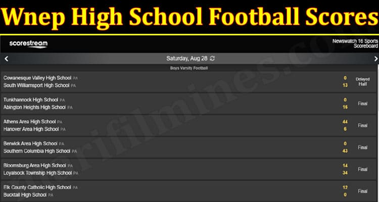 Wnep Sports Scores (August) Get The Exciting Details!