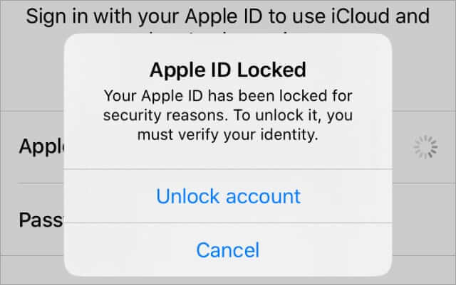 Apple ID Disabled for Security Reasons Text (September) Know The Truth!