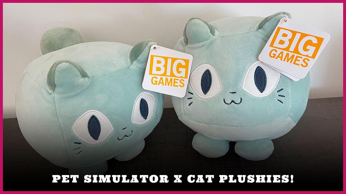 Simulator X Plush Pet (September 2021) Grab Latest Features!