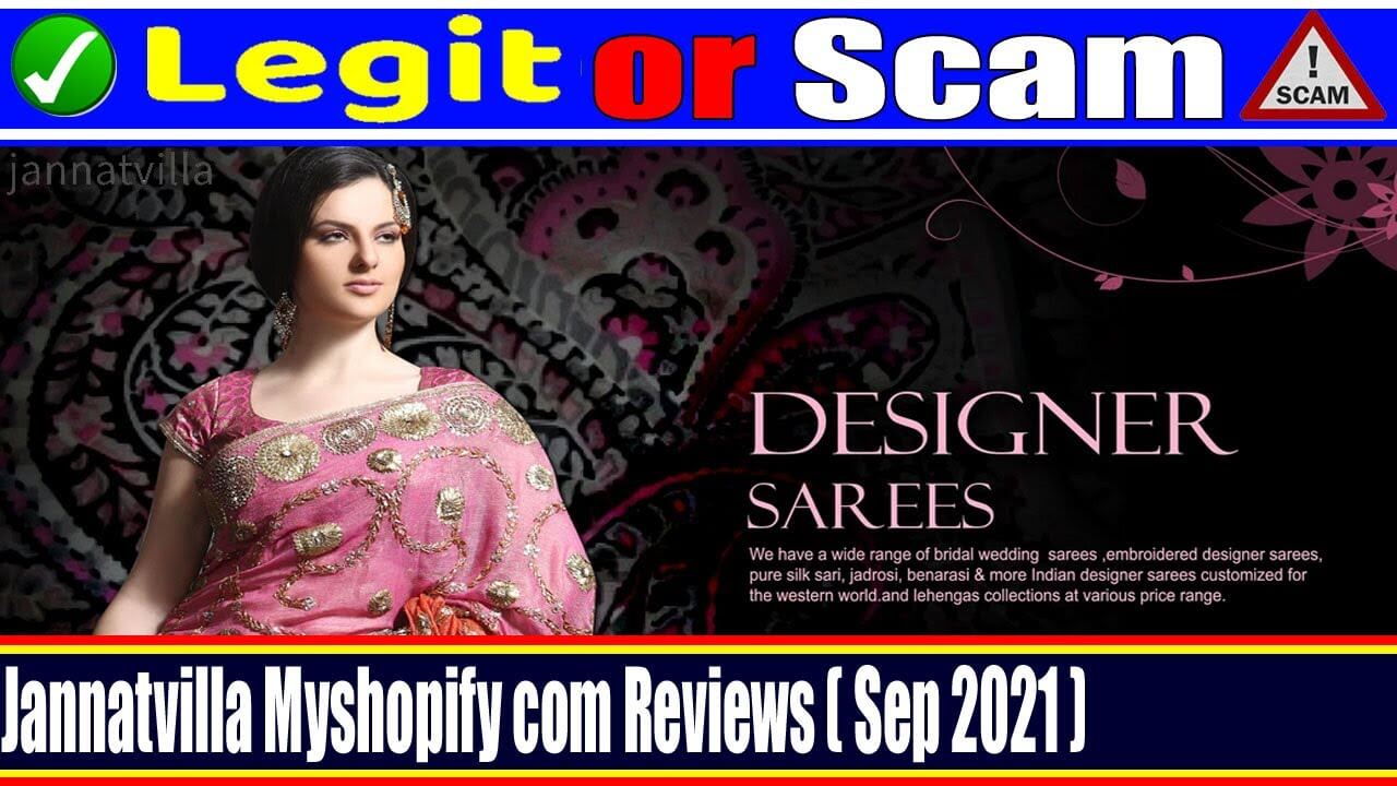 Jannatvilla Myshopify Com Reviews (September 2021) Legit Or Scam?