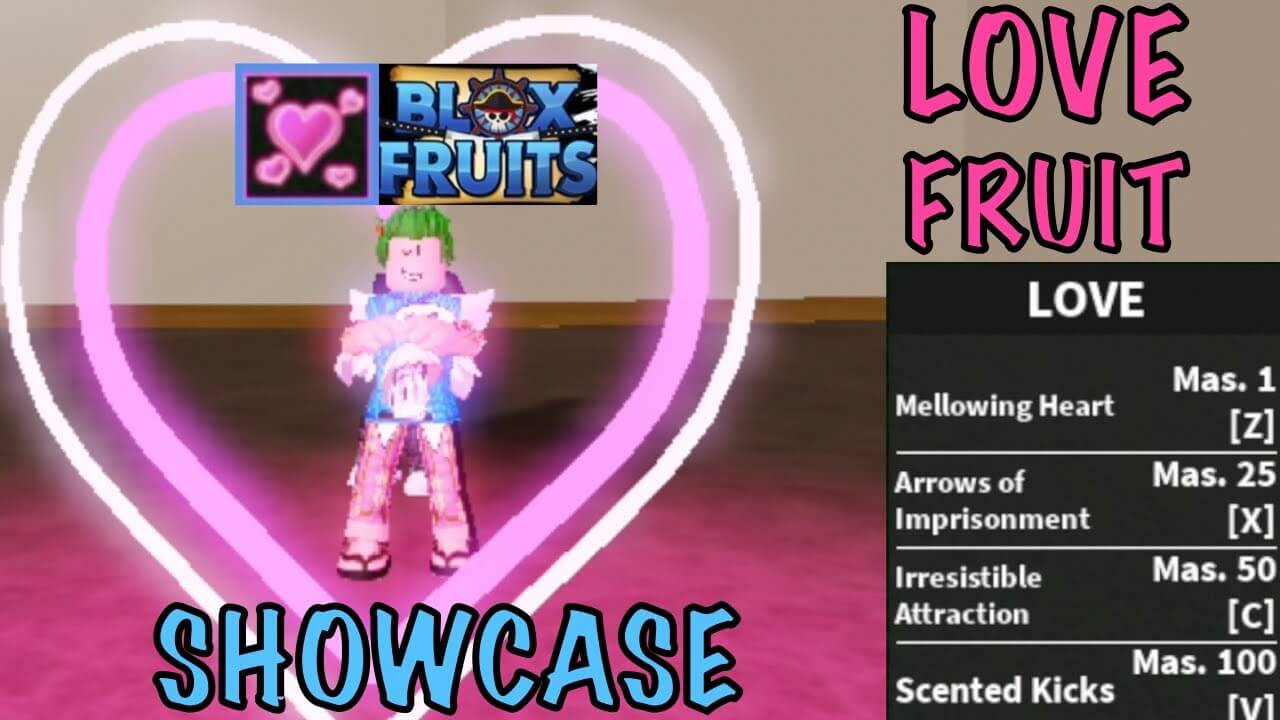 Love Fruit Blox Fruits 2021 - (September) How To Obtain It?