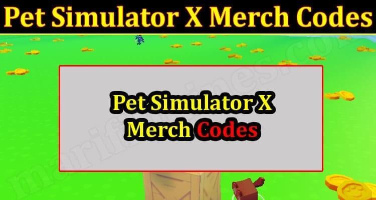 Pet Simulator X Merch Codes