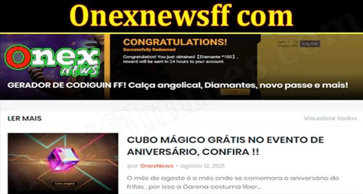 Onexnews FF Com (September 2021) Read For New Updates!