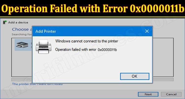 Windows Error 0x0000011b (September) How To Fix Error?