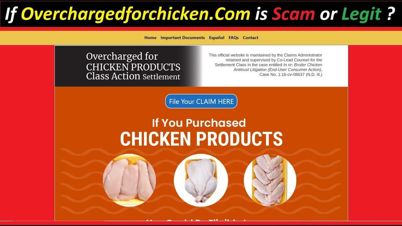 Overchargefor Chicken Com (September 2021) Legit Or Scam?