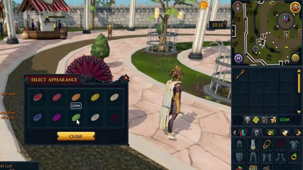 Clover Parasol Rs3 - 2021 (September) A Treasure Hunter Reward!