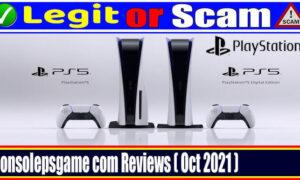 Is Consolepsgame Com Legit (October 2021) A Quick Review!