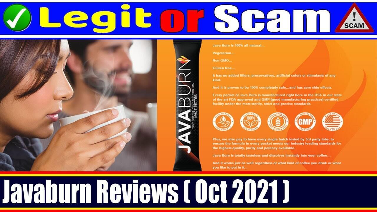 Javaburn Reviews (October 2021) Is This Legit Product?
