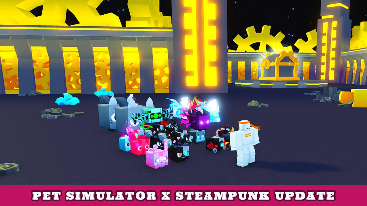 Simulator Code X Steampunk (October 2021) Know Full Game Update!