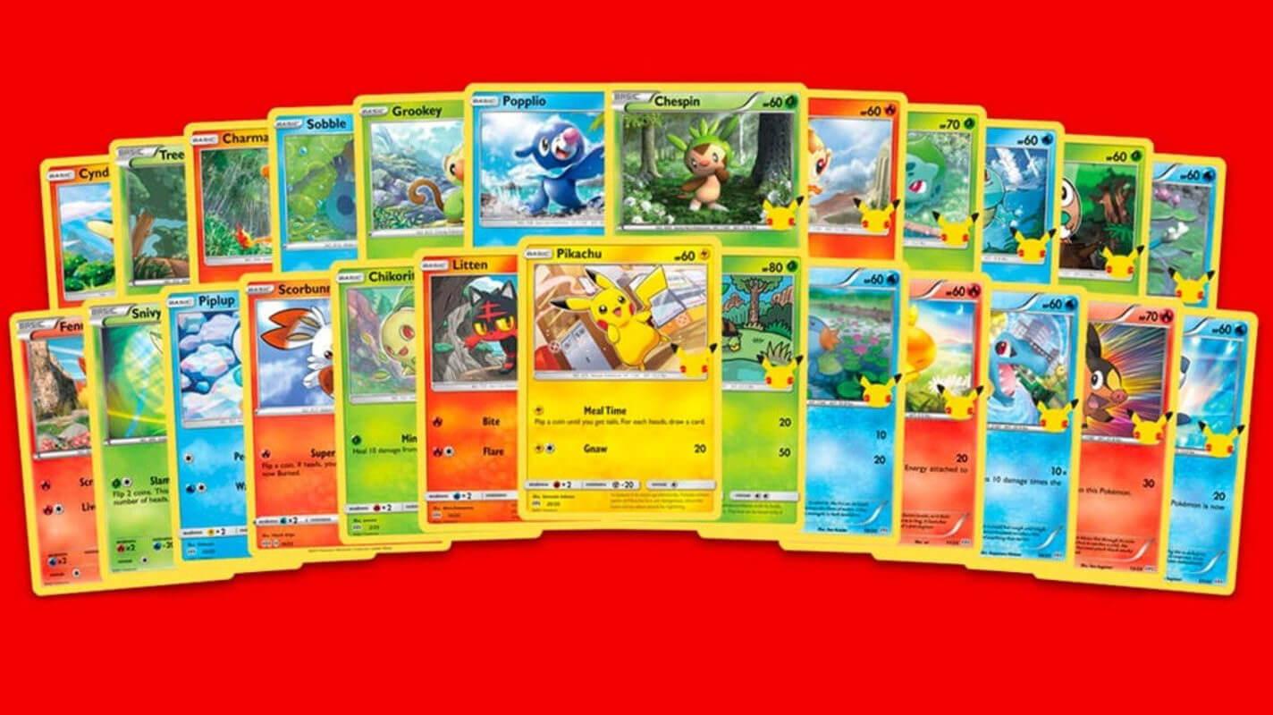 Pokémon 25th Anniversary Card List (October 2021) Know Here!