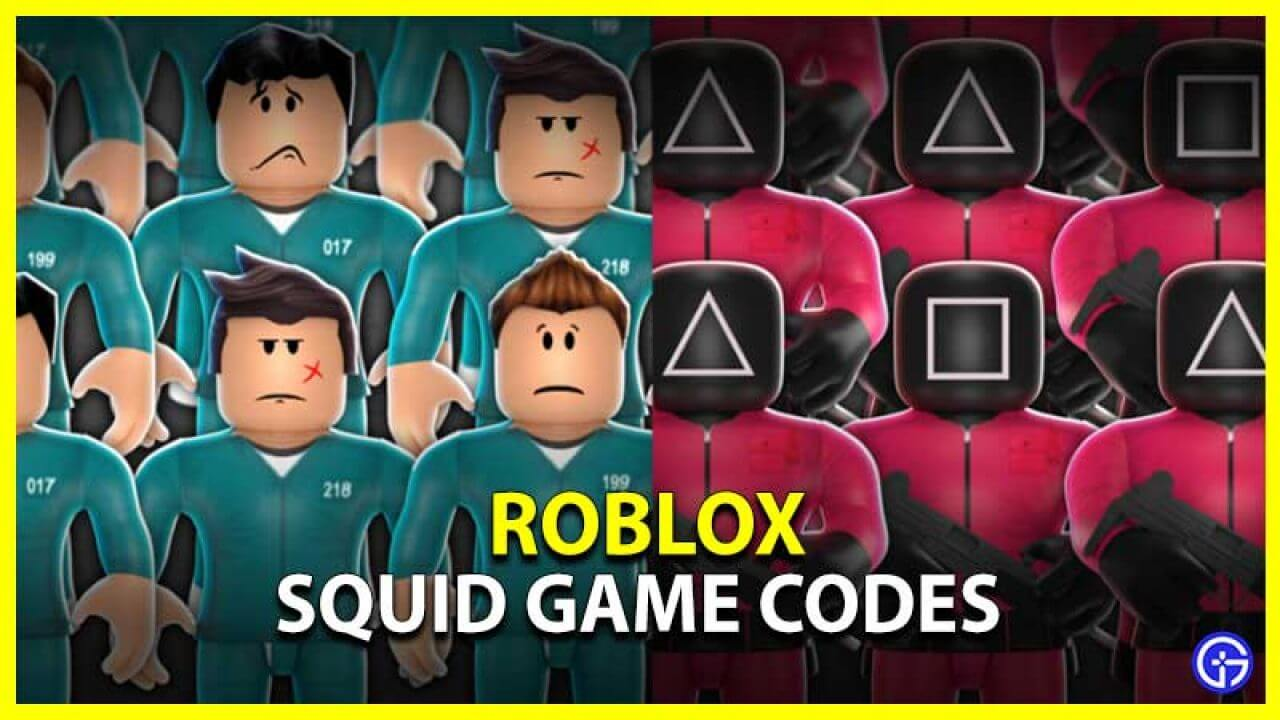 Squid Game Roblox Codes (October 2021) Know The Exciting Details!