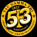 Tau Gamma Phi 53rd Anniversary Logo (October 2021) Read Now?